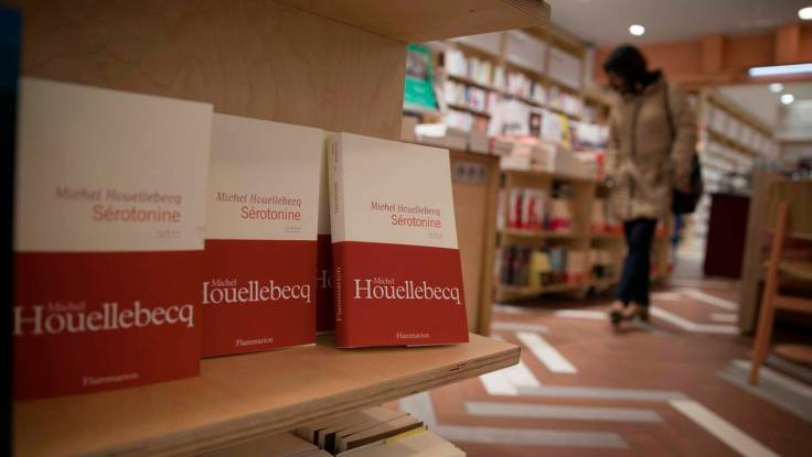 FRANCE-LITERATURE-BOOK-NOVEL-HOUELLEBECQ